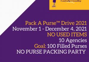 pack a purse drive 2021